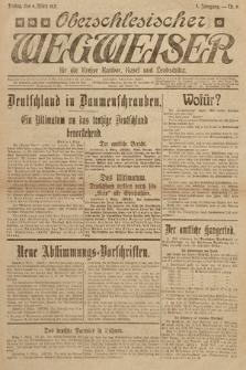 Oberschlesischer Wegweiser für die Kreise Ratibor Kosel und Leobschütz. 1921, nr6