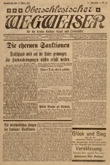 Oberschlesischer Wegweiser für die Kreise Ratibor Kosel und Leobschütz. 1921, nr13