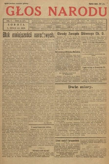 Głos Narodu. 1928, nr7