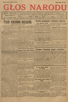Głos Narodu. 1928, nr29