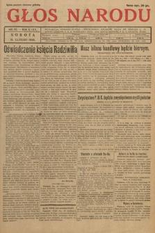 Głos Narodu. 1928, nr42