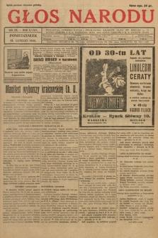 Głos Narodu. 1928, nr44