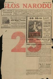 Głos Narodu. 1928, nr51 [po konfiskacie]