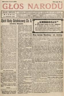 Głos Narodu. 1928, nr105