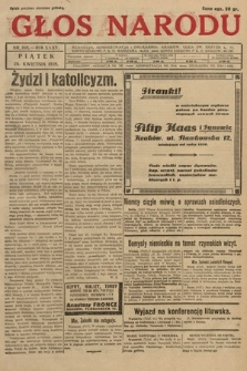 Głos Narodu. 1928, nr108