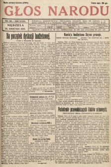 Głos Narodu. 1928, nr110