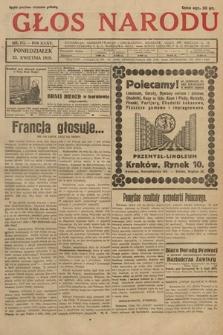 Głos Narodu. 1928, nr111