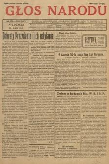 Głos Narodu. 1928, nr130