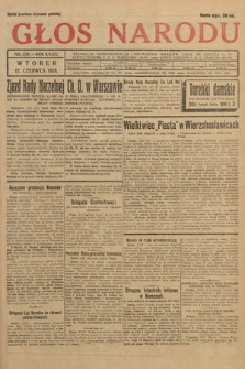 Głos Narodu. 1928, nr158