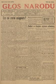 Głos Narodu. 1928, nr161