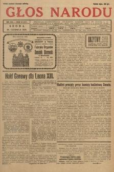 Głos Narodu. 1928, nr166