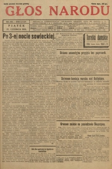 Głos Narodu. 1928, nr168