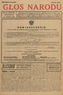 Głos Narodu. 1928, nr170