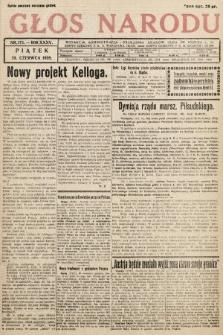 Głos Narodu. 1928, nr175