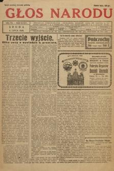 Głos Narodu. 1928, nr179