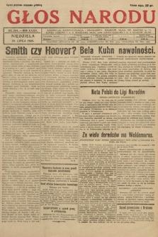 Głos Narodu. 1928, nr204