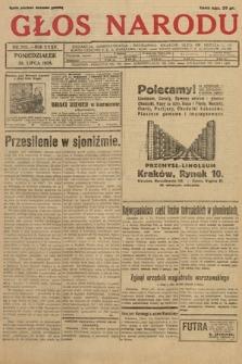 Głos Narodu. 1928, nr205