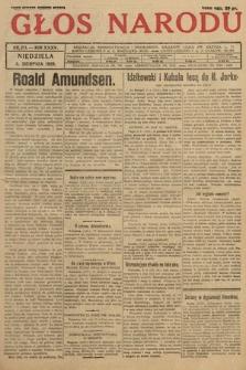 Głos Narodu. 1928, nr211 [ocenzurowany]