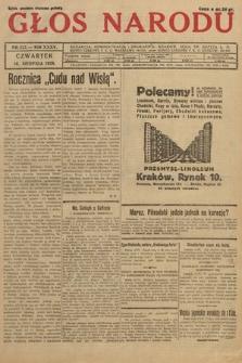 Głos Narodu. 1928, nr222