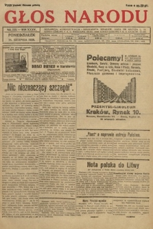 Głos Narodu. 1928, nr225