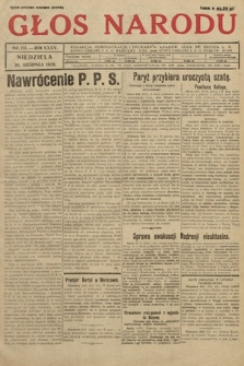Głos Narodu. 1928, nr231