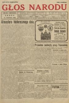 Głos Narodu. 1928, nr234