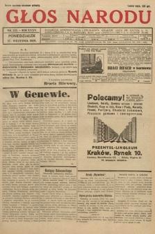 Głos Narodu. 1928, nr253