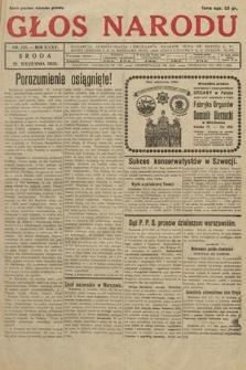 Głos Narodu. 1928, nr255