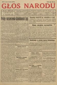 Głos Narodu. 1928, nr258