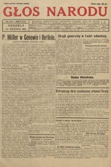 Głos Narodu. 1928, nr259