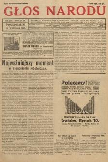Głos Narodu. 1928, nr260