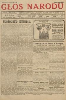 Głos Narodu. 1928, nr262