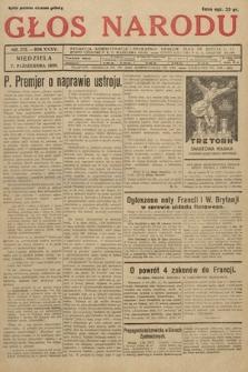 Głos Narodu. 1928, nr273