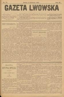 Gazeta Lwowska. 1902, nr74