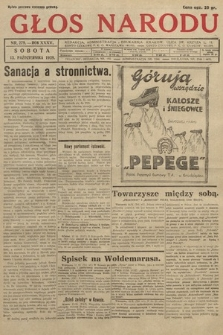Głos Narodu. 1928, nr279