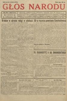Głos Narodu. 1928, nr296