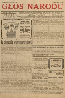 Głos Narodu. 1928, nr299