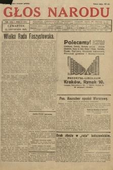 Głos Narodu. 1928, nr319