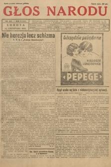 Głos Narodu. 1928, nr321