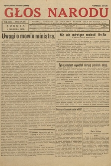 Głos Narodu. 1928, nr328