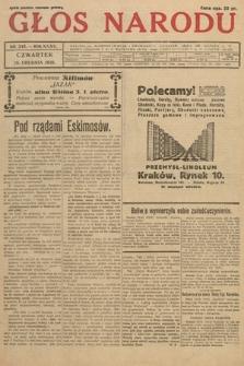 Głos Narodu. 1928, nr346