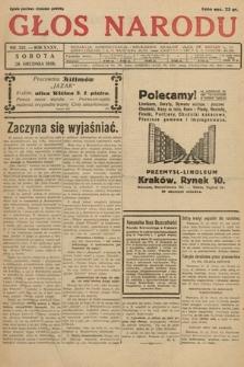 Głos Narodu. 1928, nr352