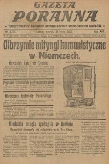 Gazeta Poranna : ilustrowany dziennik informacyjny wschodnich kresów. 1923, nr6784