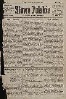 Słowo Polskie. 1901, nr4