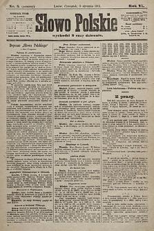 Słowo Polskie. 1901, nr5 (poranny)