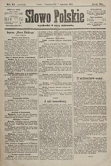 Słowo Polskie. 1901, nr11 (poranny)