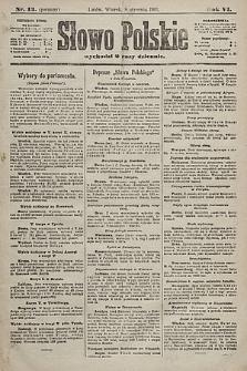 Słowo Polskie. 1901, nr13 (poranny)