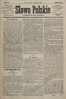 Słowo Polskie. 1901, nr14