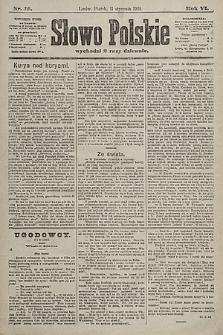 Słowo Polskie. 1901, nr18