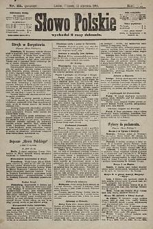 Słowo Polskie. 1901, nr25 (poranny)